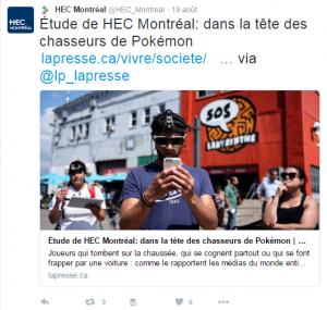 Hec- universités influentes médias sociaux