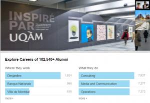 UQAM - top université médias sociaux