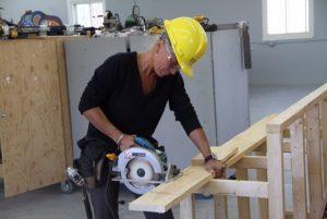 Catherine Speichert - vie heureuse en charpenterie