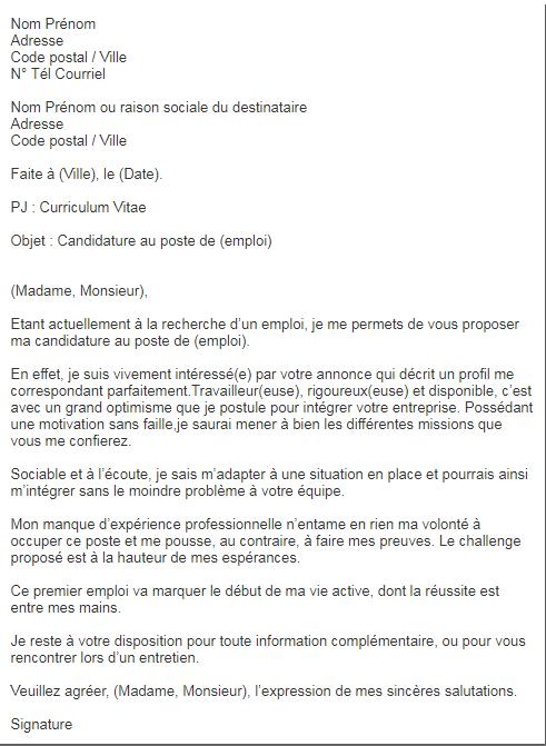 quatre formats de lettres de motivation qui te d u00e9marqueront des autres candidats  u2014 academos