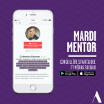 Découvrez chaque mardi un nouveau mentor Academos, l'application incontournable pour trouver le métier de ses rêves
