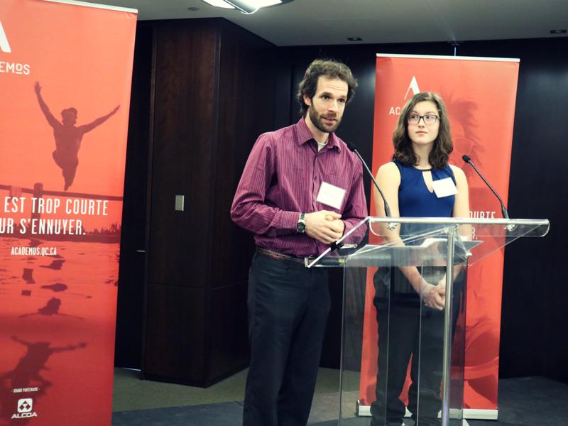 Samaël et Léa, duo mentor-mentorée d'Academos nous livre un vibrant témoignage